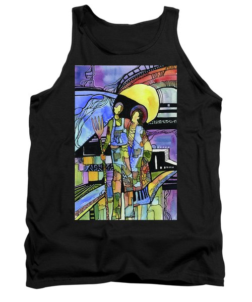 Gothic Friends Tank Top