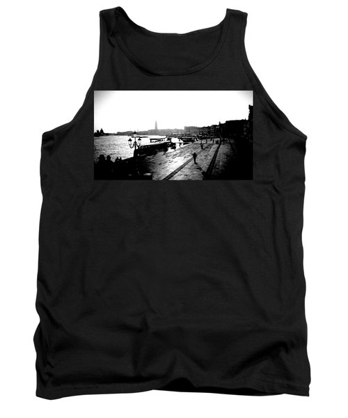 Grand Canal At Sunset Tank Top