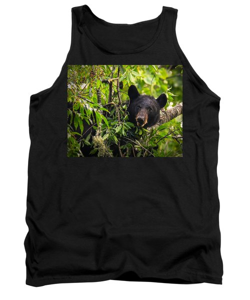 Great Smoky Mountains Bear - Black Bear Tank Top
