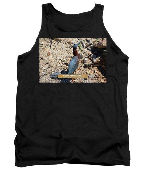 Green Heron Strut - Virgin Nature Series Tank Top