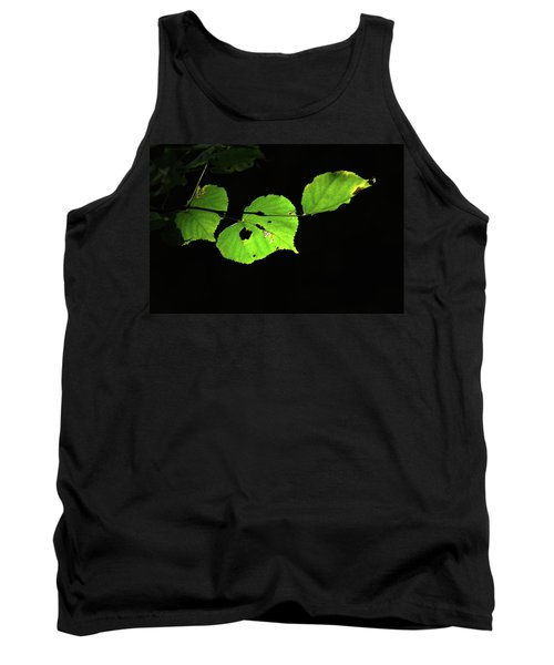 Green Leaves Tank Top