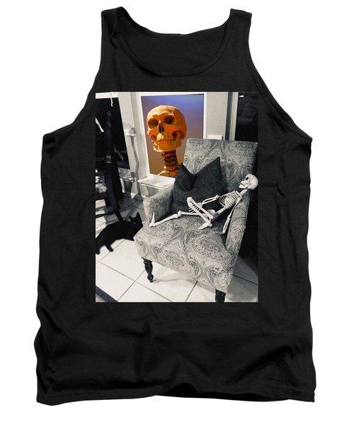 Halloween Window Dressing Tank Top