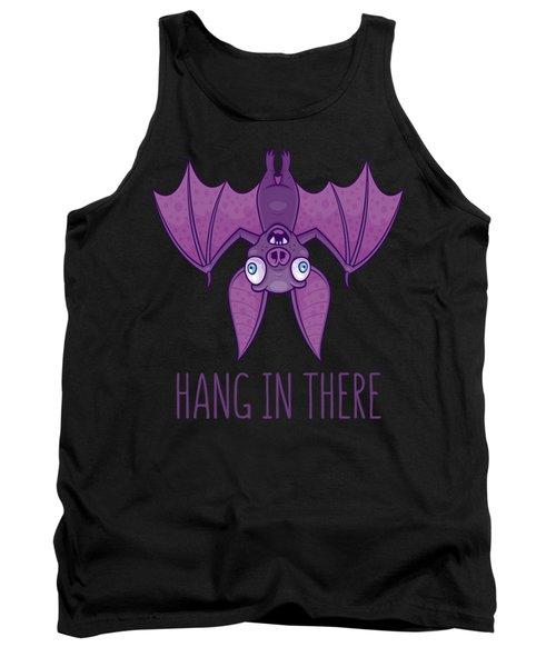 Hang In There Wacky Vampire Bat Tank Top