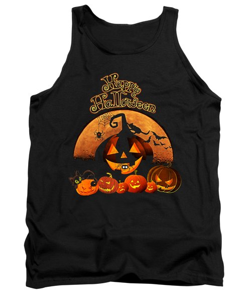 Happy Halloween Tank Top