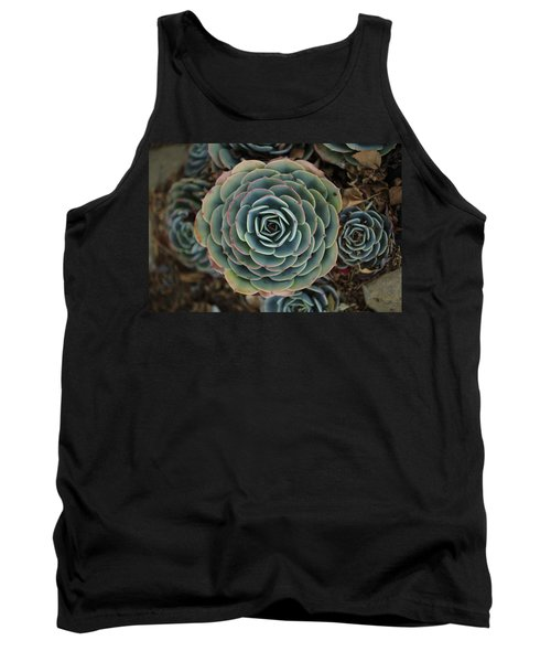 Hen And Chicks Succulent Tank Top