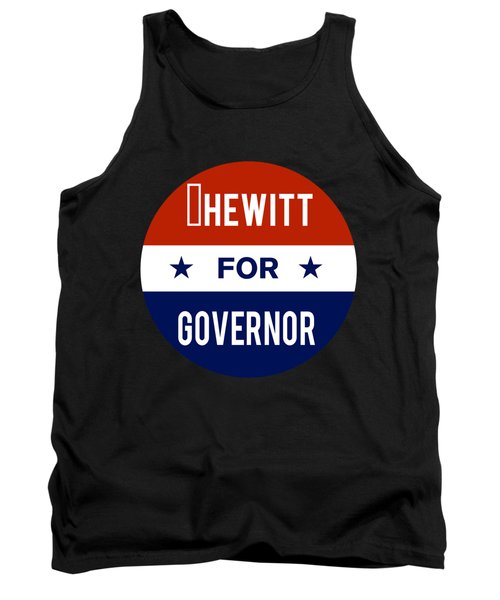 Hewitt For Governor 2018 Tank Top