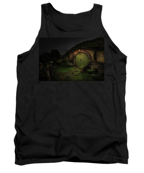 Hobbiton At Night #1 Tank Top