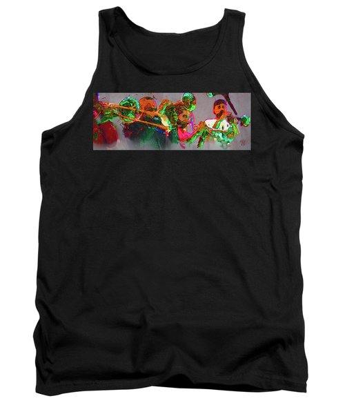Horn Section Tank Top
