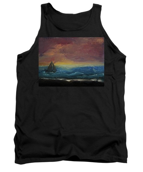 Impressions Of The Sea Tank Top