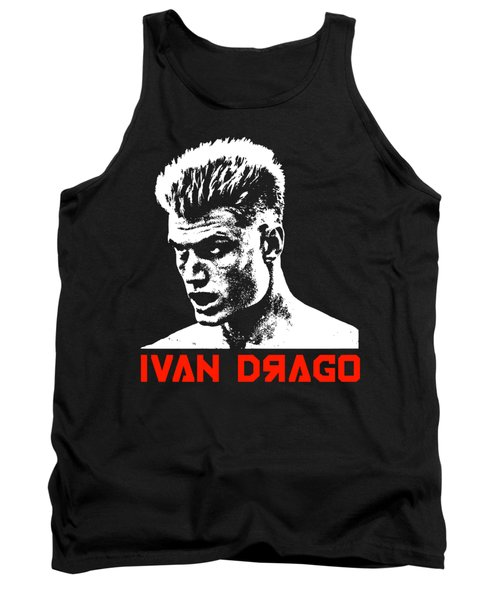 Ivan Drago Pop Art Tank Top
