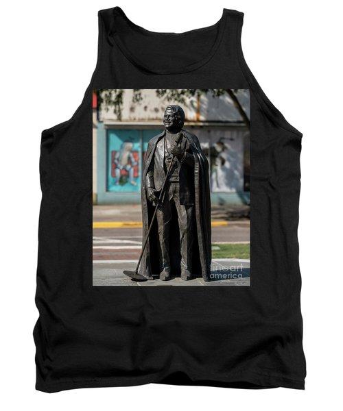 James Brown Statue - Augusta Ga 2 Tank Top