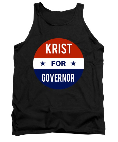 Krist For Governor 2018 Tank Top