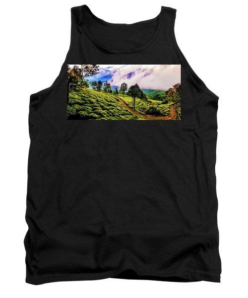 Green Landscape Tank Top