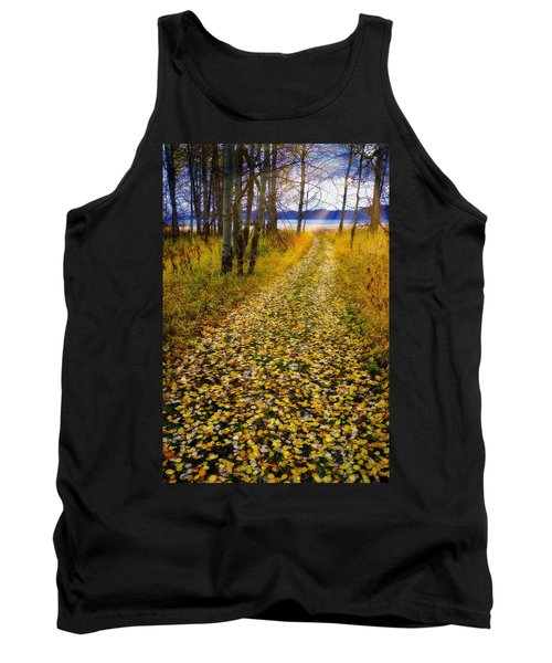 Leaves On Trail Tank Top