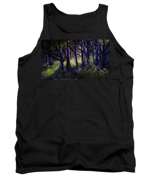 Light In The Forrest Tank Top