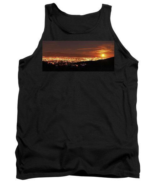 Lights Of Tucson And Moonrise Tank Top