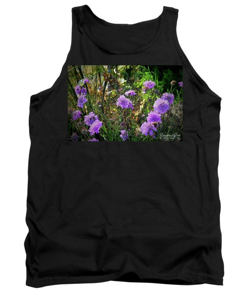 Lilac Jelly Pincushion Tank Top