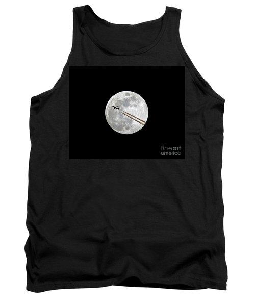 Lunar Photobomb Tank Top