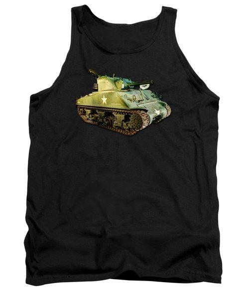 M4 Sherman Tank 2 Tank Top