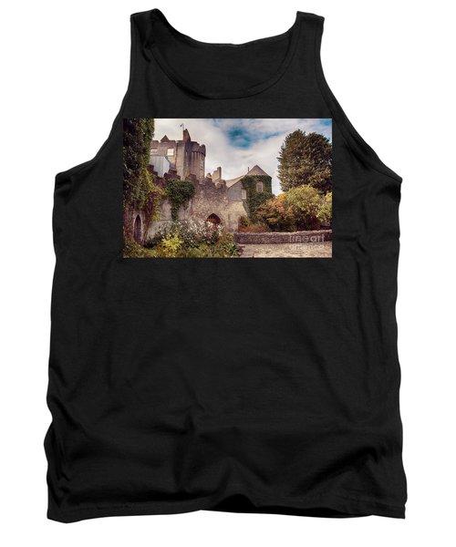 Malahide Castle By Autumn  Tank Top