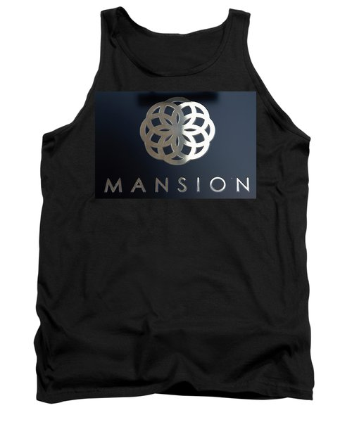 Colours. Mansion Black Tank Top