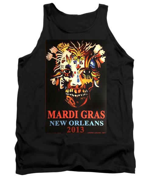 Mardi Gras Spirit 2013 Tank Top