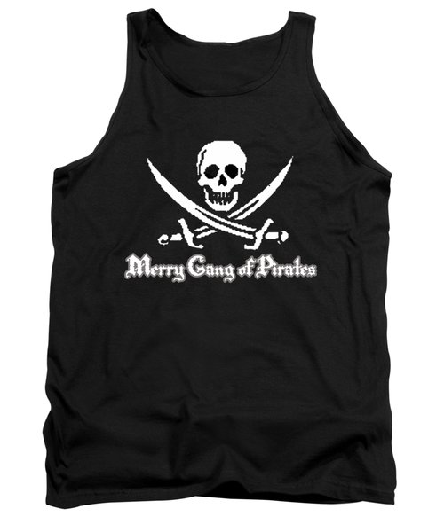 Merry Gang Of Pirates Tank Top