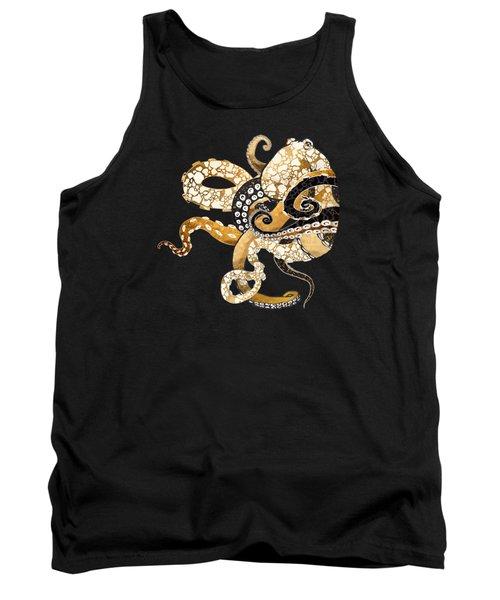 Metallic Octopus Tank Top
