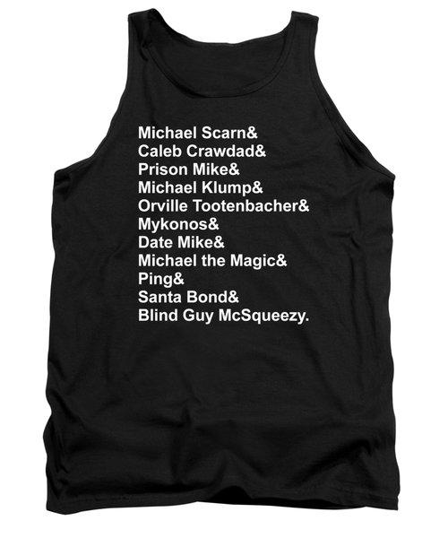 Michael Personas Tank Top