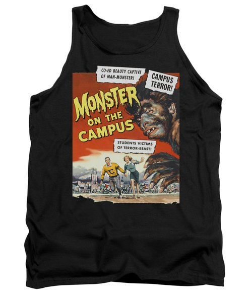 Monster On The Campus Vintage Movie Poster Tank Top