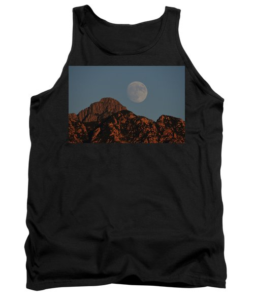 Moon Rise Over Mount Wrightson  Tank Top