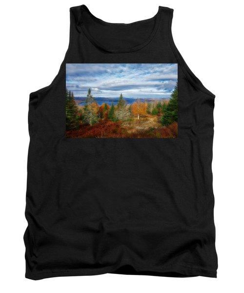 Mooselookmeguntic Lake Fall Colors Tank Top