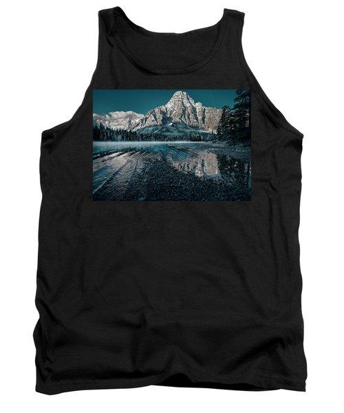 Mount Chephren Reflected Tank Top