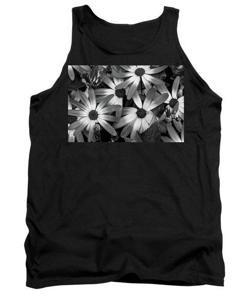 Multiple Daisies Flowers Tank Top
