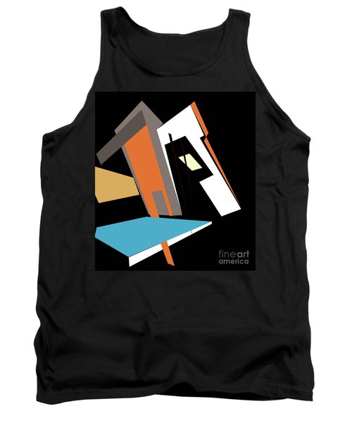 My World In Abstraction Tank Top