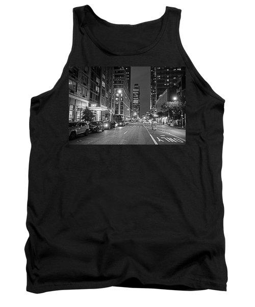 New York City Gotham West Market New York Ny Black And White Tank Top