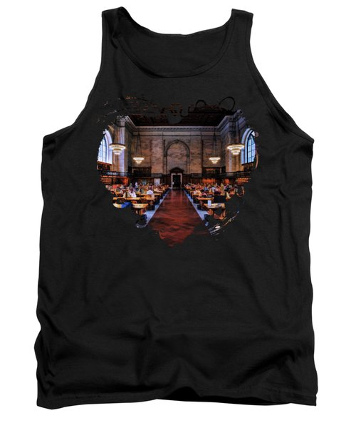 New York City Public Library Rose Reading Room Tank Top