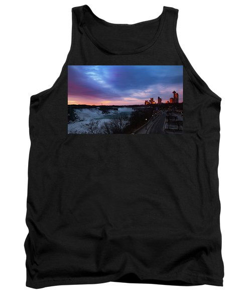 Niagara Falls At Sunrise Tank Top