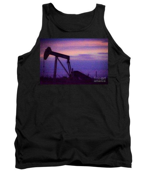 Oil Sunset Tank Top
