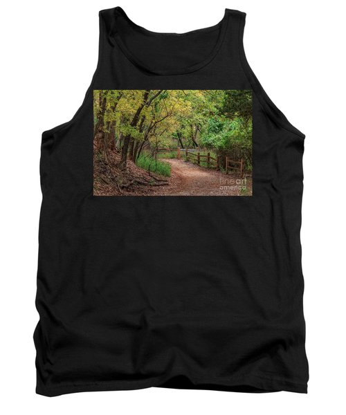 Oklahoma City's Martin Nature Park In Fall Color Tank Top