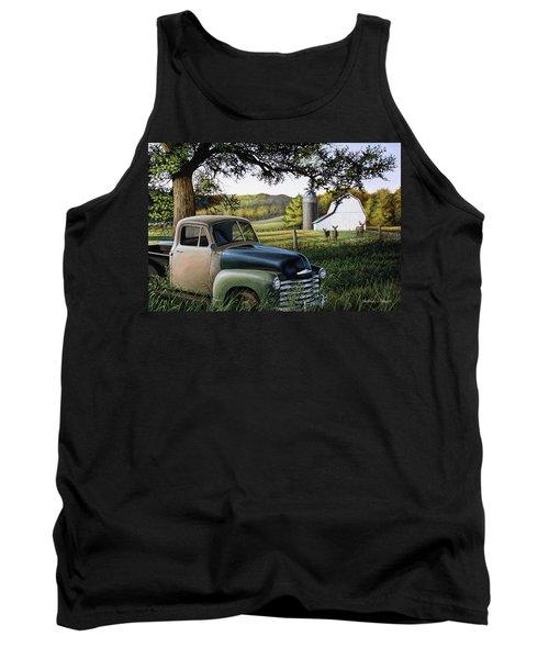 Old Farm Truck Tank Top