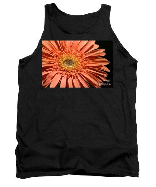 Orange Gerbera Daisy Tank Top