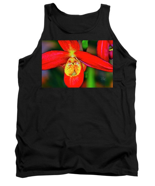 Orchid Study Seven Tank Top