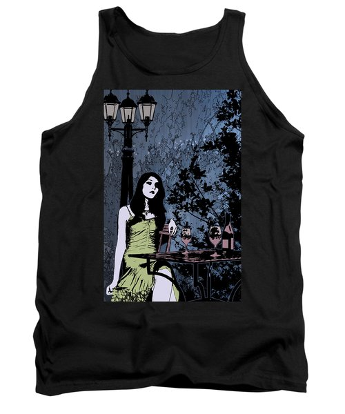 Out At Night Tank Top