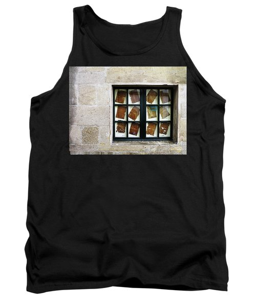 Tank Top featuring the photograph Parchment Panes by Rick Locke