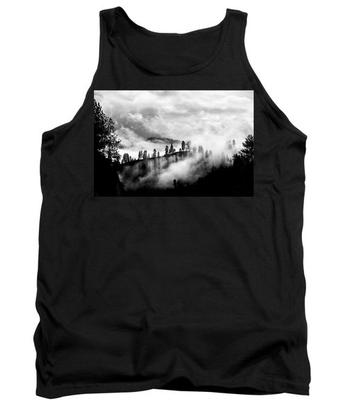 Passing Storm Central Idaho Mountains Tank Top