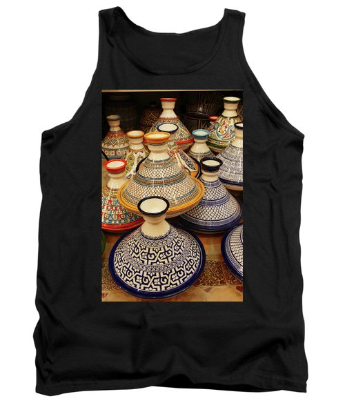 Porcelain Tagine Cookers  Tank Top