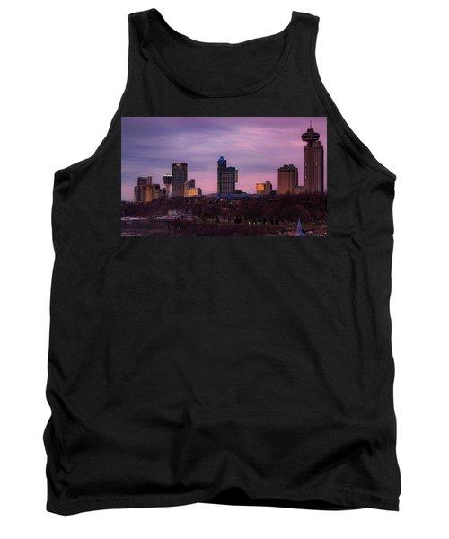 Purple Haze Skyline Tank Top