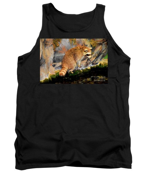 Raccoon 609 Tank Top