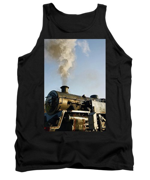 Ramsbottom. East Lancashire Railway. Locomotive 80080. Tank Top